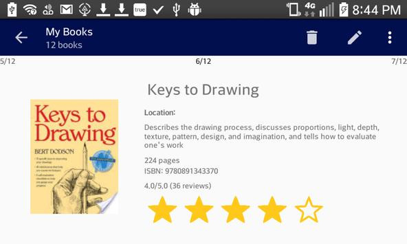 Book Itemizer apk screenshot