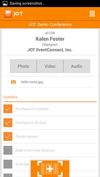 JOT Leads apk screenshot
