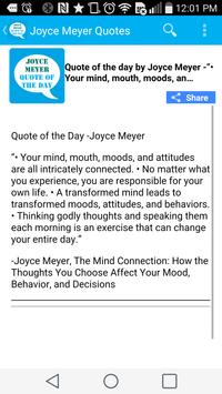 Joyce Meyer Quote of the Day apk screenshot