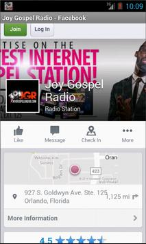 Joy Gospel Radio apk screenshot