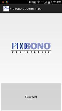 Pro Bono Partnership Vol Opps poster