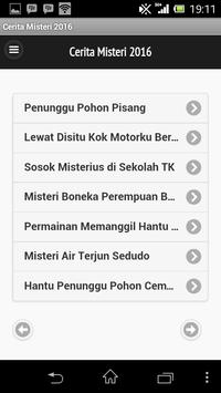 Cerita Misteri 2016 apk screenshot