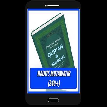 Hadits Mutawatir (300+ Hadits) poster