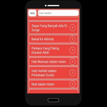 Hadits Mutawatir (300+ Hadits) apk screenshot
