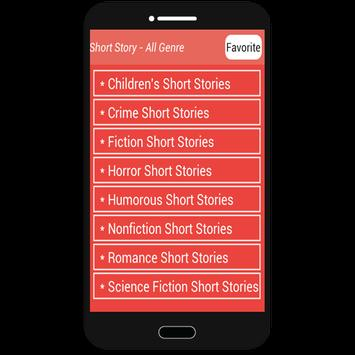Short Story - All Genre apk screenshot