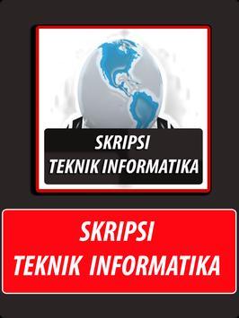 Skripsi Teknik Informatika poster