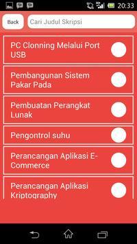 Skripsi Teknik Informatika apk screenshot