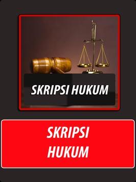 Skripsi Hukum poster