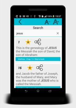 Holy Bible ASV (free offline) apk screenshot