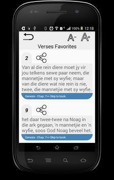 Holy Bible in Afrikaans apk screenshot