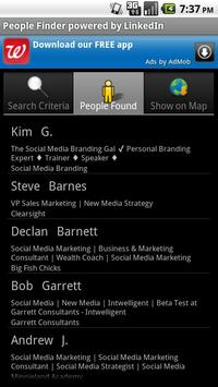 Business People Finder poster