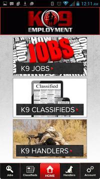 K9 Employment poster