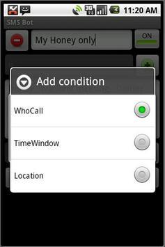 SMS Bot (Free) apk screenshot