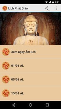 Lịch Phật Giáo poster