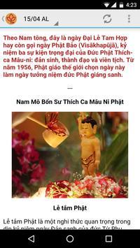 Lịch Phật Giáo apk screenshot