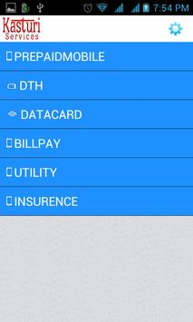 K-TOP Mobile Recharge Platform apk screenshot
