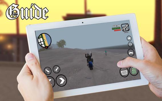 Guide GTA San Andreas apk screenshot