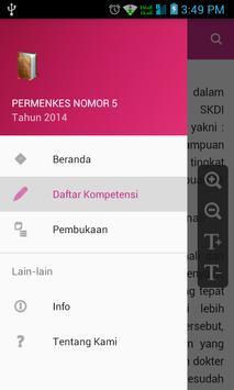 Permenkes Nomor 5 apk screenshot