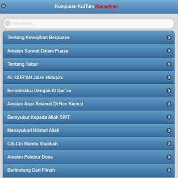 Kumpulan Kultum Ramadhan apk screenshot