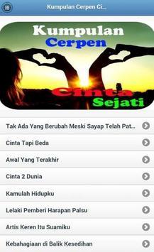 Kumpulan Cerpen Cinta Sejati apk screenshot