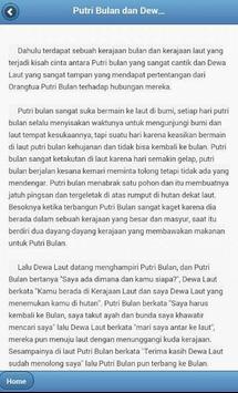 Cerpen Dongeng Cerita Rakyat apk screenshot