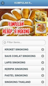 Kumpulan Resep Olahan Singkong apk screenshot