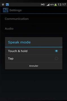 Walkie Talkie App Free apk screenshot