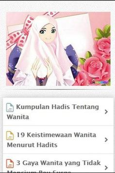 Kumpulan Hadist Wanita apk screenshot