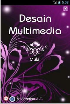 Materi Desain Multimedia poster