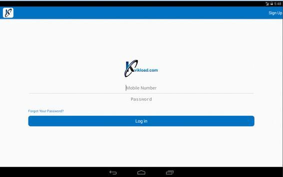 Kvikload apk screenshot