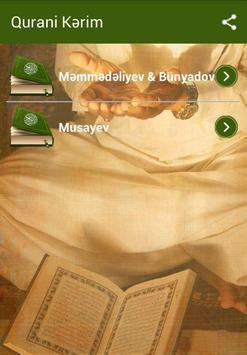 Quran Azerice poster