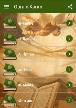 Quran Azerice apk screenshot