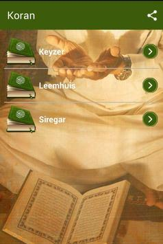 De Edele Koran poster