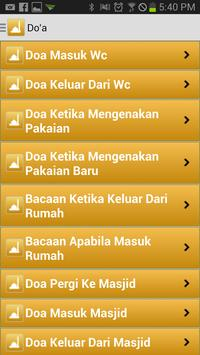 Doa Harian dan Motivasi Islam apk screenshot