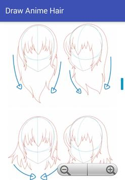 Draw Anime Hair poster