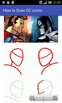 How to Draw Dc Comic poster