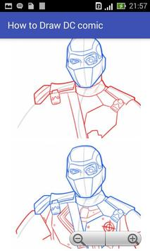 How to Draw Dc Comic apk screenshot