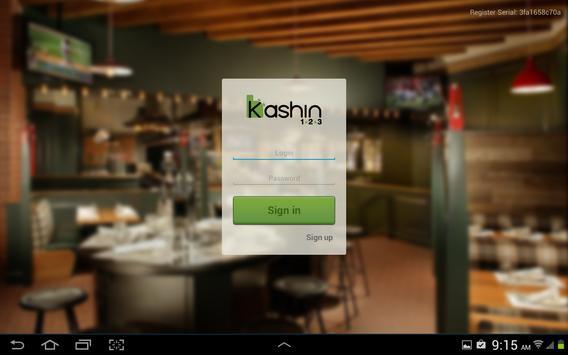 Kashin cloud based tablet POS poster