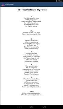 Hymnal SDA Mobile apk screenshot