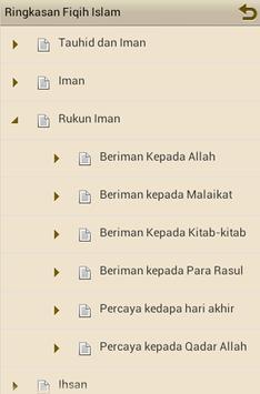 Ringkasan Fiqih Islam apk screenshot