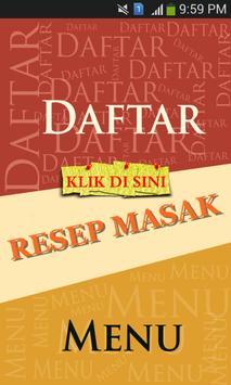 Resep Masak Special poster