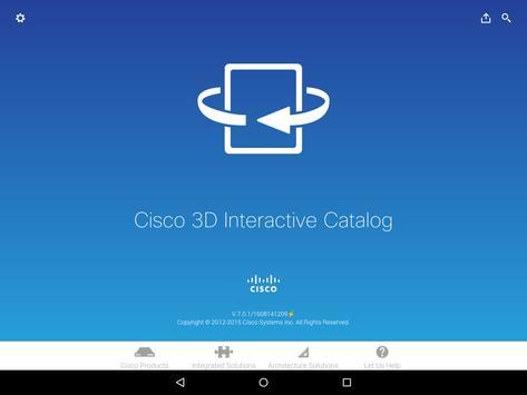 Cisco 3D Interactive Catalog apk screenshot