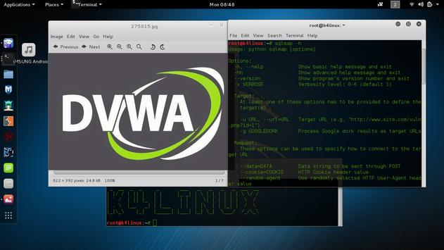 Kali Linux 2016.2 Tutorials apk screenshot