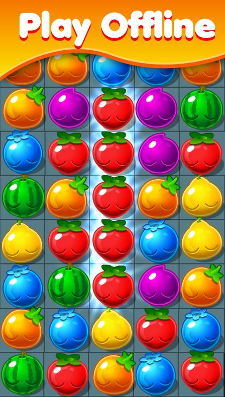 Forest jam Fruits Garden Mania APK Download Free Puzzle GAME for