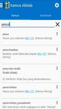Kamus Alkitab apk screenshot