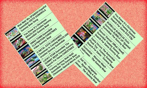 GummyBearIntl online for kid poster