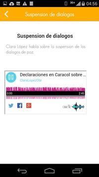 Clara López apk screenshot