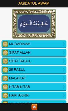 Terjemah Aqidatul Awam poster