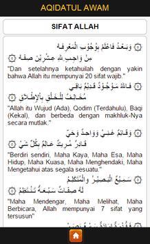 Terjemah Aqidatul Awam apk screenshot