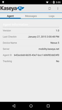 Kaseya MobileManage apk screenshot